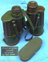 ZEISS HENSOLDT 10x50 Strichplatte FERO-D19 Binoculars Fernglas Marine Jagd Glas