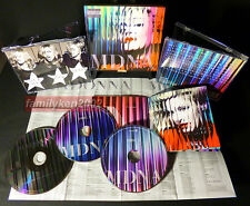 Taiwan LIMITED 3-CD Boxset w/BonusTrks NEW! Madonna MDNA Nicki Minaj rebel heart