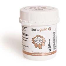 Schüßler Salz Nr.3 - Ferrum phosphoricum D12 - 400 Tabletten, glutenfrei