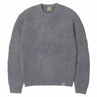 Jersey de cuello redondo hombre CARHARTT mod. Rib Sweather gris oscuro F/W16-17