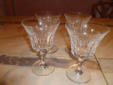 Lot (4) BACCARAT BUCKINGHAM Franch  Wine or Sherry of Cocktail Glass  6.75 High