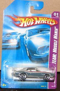 Hot Wheels 2008 Team: Muscle Mania #133 PONTIAC GTO JUDGE