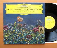 DG 139 109 Schumann Dichterliebe Liederkreis Fischer-Dieskau Jorg Demus EX/EX
