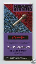 """Heart/You're The Voice + 2 (1 Live) (Japan/3"""" CD Single/Sealed)"""