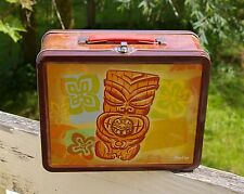 Metal Tiki Lunchbox 2011 Zuma's Revenge by PopCap Games Empty Tin