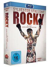ROCKY 1-6 THE COMPLETE SAGA 1 2 3 4 5 6 BLU-RAY