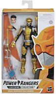 "Power Rangers Beast Morphers Gold Ranger 6"" Action Figure Lightning Collection"