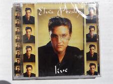 ELVIS PRESLEY LIVE CD 14 TRACKS PLUS INTERVIEW UK IMPORT MUSICBANK