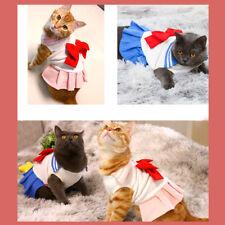 Sailor Moon Pet Cats Dogs Cosplay Costume Dress Cute Uniform Gift