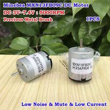 Minebea Mxn13fb09c Motor Dc 3v74v 5000rpm Precious Metal Brush Mute Motor Diy