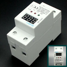 40A 220V Automatic Reconnect Over and Under Voltage protective device monitor