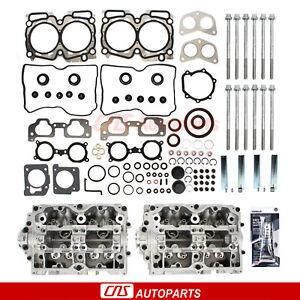 New Cylinder Heads Head Gasket / Bolts For 04-07 Subaru 2.5L SOHC Non-Turbo EJ25