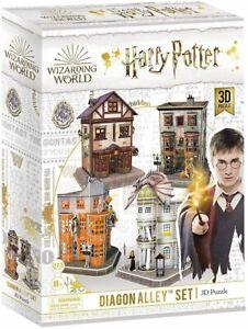 Harry Potter Diagon Alley Set 273pc 3D Puzzle