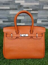 Birkin orange 30 cm