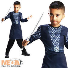 Thorin The Hobbit Boys Fancy Dress Book Week Movie Costume Kids Outfit Ages 5-7