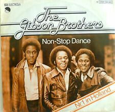 """7"""" 1977 ! GIBSON BROTHERS : Non-Stop Dance /MINT-"""