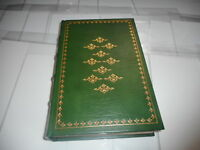 Franklin Mint Library Leather Bound Book - TRISTRAM SHANDY - LAURENCE STERNE
