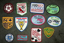 Lot of 12 Ohio Indiana Midwest Soccer Clubs Tournament Patches New NOS 1980s