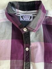 GANT by Michael Bastian Men's Plaid Button Front Shirt Sz X-Large XL
