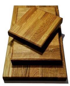 Oak Chopping Board Serving Boards Thick Butchers Block