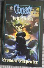 CONAN WYRZUTEK Leonard Carpenter | Polish book | Hardback 1996 Conan the Outcast