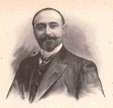 Portrait Pierre-Barthélemy Gheusi Norbert Lorédan Figaro Opéra Comique