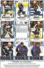 2008-09 UD Upper Deck MVP Atlanta Thrashers Master Team Set  (14)