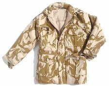 BOYS 9-10 years DESERT CAMO PADDED SOLDIER JACKET Military combat coat army Sand