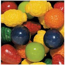 100 Semis Fruit Dubble Gumball Candy Rempli Gomme Boule Distributeur