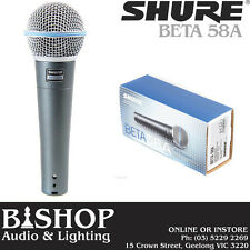 SHURE Beta 58A Pro Vocal Mic GENUINE Beta 58 / Beta58a