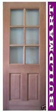 NEW SOLID TIMBER MAPLE HALF FRENCH HOUSE DOORS