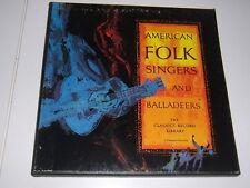 American Fokl Singers & Balladeers- Vanguard 4-LP-Box: Hedy West, Odetta,Weavers