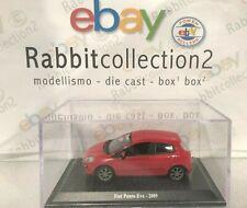 "DIE CAST "" FIAT PUNTO EVO - 2009 "" + TECA RIGIDA BOX 2 SCALA 1/43"