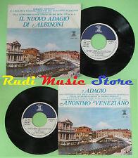 LP 45 7'I SOLISTI VENETI Il nuovo adagio albinoni Anonimo veneziano no cd mc*dvd