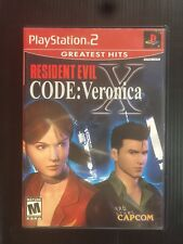 Resident Evil Code Veronica X Tested And Complete PS2