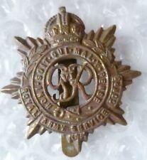 Badge WW2 Royal Army Service Corps Cap Badge KC RASC Badge GVI