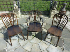 Oak Dining Room Chairs 3