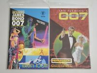 Ian Fleming's James Bond 007 Permission To Die & Serpent's Tooth Book Two