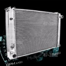 ALUMINUM EMC 1979-93 FORD 5.0L 302 RADIATOR DIRECT FIT W/ AT COOLER - POLISHED