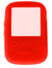 Nueva silicona piel funda para Sandisk Sansa Clip Sport MP3 Reproductor-Rojo