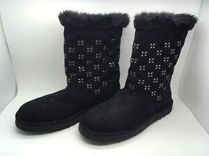 Boots Lining Woman cafe noir New Black Size 39 Eur/7.5 US