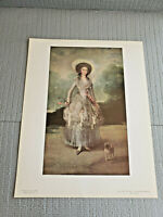 "National Gallery of Art, Goya  "" The Marquesa De Pontejos "" Print 11"" x 14''"