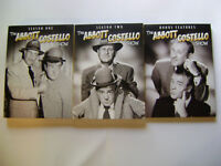 THE ABBOTT AND COSTELLO SHOW DVD COMPLETE TV SERIES SEASONS 1,2 + BONUS FEATURES