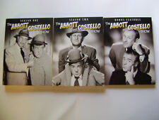 THE ABBOTT AND COSTELLO SHOW DVD COMPLETE TV SERIES SEASONS 1,2 + BONUS FEATURE