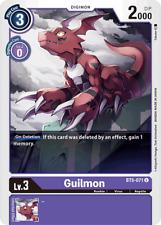 Digimon Card Game Guilmon BT5-071 Uncommon