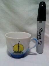 Hershey Park Pennsylvania Chocolate Miniature Tea Cup Travel Souvenir Amusement