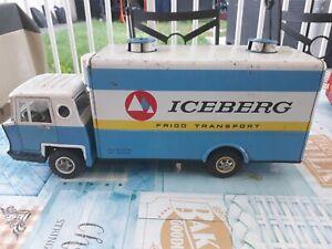 Camion joustra Iceberg no cij