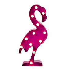 Fiesta Flamingo Carnival Light - XL LED Metal Wall Art Light Decoration Party