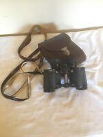 Carl Zeiss DDR Jena Jenoptem 8x30 Binoculars & Original Leather Case