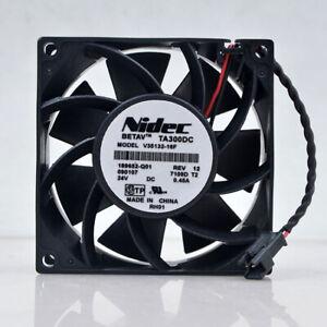 1pc new NIDEC TA300DC V35132-16F 24v 0.45a  8cm 8038 11 15kw   inverter fan